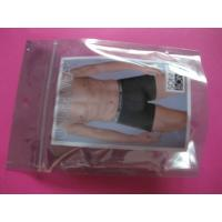 China Plastic Stand Up Zipper Custom Printing Garment Packaging Bag For Underware on sale