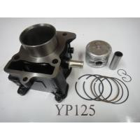 China Carburetor repair kit , Motorcycle cylinder with increased intake vents block YP125 53.7mm on sale