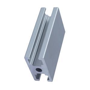 China 6m Length 0.7kgs/m 6063 Extruded Aluminum Profile on sale