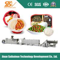 380V 50HZ Instant Rice Machine Self - Heating Rice Production Line Manufactures