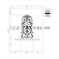 Decorative wall panel/elevator's cabin CY-20121129 Manufactures