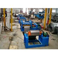 Flattening Cut To Length Line Machine / Auto Wire Cut To Length Machine Manufactures