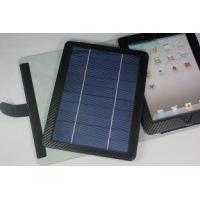 5V 700mah Durable USB Ipad Solar Charger Case / Cases with Removable Bluetooth keyboard Manufactures