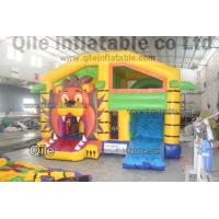 tiger combo , inflatableSnow and ice colors combo,cheap bouncy castle hire Manufactures