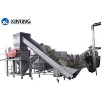 PE PP HDPE LDPE Waste Plastic Recycling Plant MachineryStainless Steel 304 Material Manufactures
