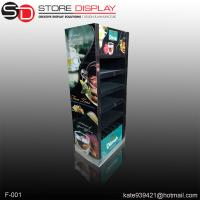 cosmetic floor display stand with double sides Manufactures