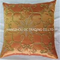 China Handmade ribbon cushion covers on sale