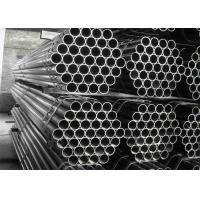 ASTM Seamless Stainless Steel Pipe , Beveled Ends Brushed Steel Tube Manufactures