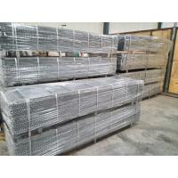 Galvanized Construction Expanded Metal Rib Lath 0.3mm Thickness For Stucco Manufactures
