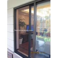 China invisible trackless screen door/French door retractable screen on sale