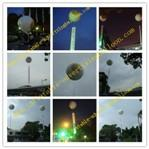 2M Inflatable Advertising Helium Balloon For Promotional , Grand Opening and Exhibitions Manufactures