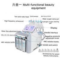 China Skin Rejuvenation Hydrogen Oxygen Multifunction Skin Care Machine 500W Power on sale
