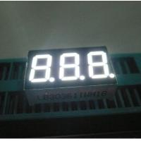 Three Digit 7 Segment Led Display Pure White Small Seven Segment Display For Electronic Device Manufactures