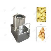 Potato Carrot Washing And Peeling Two In One Machine Small Scale Manufactures