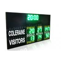 Customized Design LED Electronic Scoreboard Portable Back Maintenance 60kgs Manufactures