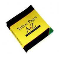 China Fast to printing yellow books, short run book printing company, offset full color printing thick hardcover book on sale