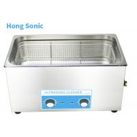 China Temperature Control Ultrasonic Parts Cleaner With 20 - 80C Heater 500W Ultrasonic Power on sale