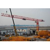 PT7532 Flat Top Tower Crane 75mts Working Jib 20t Load Without Head Type Manufactures