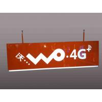 Telecom Operators Service Rectangular Shaped Sign Double Sides For Wayfinding Manufactures