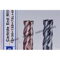 HRC55  TiSiN Coating , Carbide End Mill , 4 Flute , Certizit  WF25 , Milling Cutters Manufactures