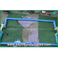 Portable Outdoor Inflatable Soccer Field / Football Field With Printing Logos