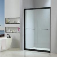 Stainless steel shower enclosure 1400*2000 with double sliding doors Manufactures
