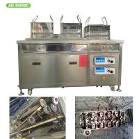 China Radiator Heat Exchanger Industry Ultrasonic Cleaning Machine Oil Filtration Frequency 28Khz / 40Khz on sale