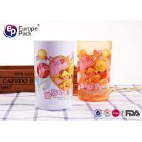 Customized Printing Strong Childrens Plastic Mugs Without Holder  270ml 9.5OZ Manufactures