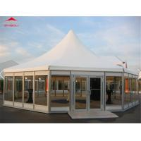 China Outdoor High Peak Pagoda Party Tents With 6 Side Flame Retardant on sale