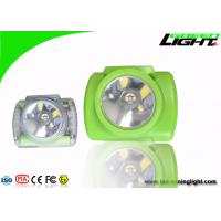 Mineral Industry LED Mining Light Adjustble Stainless Steel Clip 13000lux Hard PC Material Manufactures