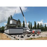 Prefabricated Modified Renovated Flat Pack Container House / Steel Container Home Manufactures