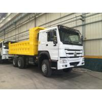 15M3 30T Sinotruk Howo7 Dump Truck 6x4 With 336hp Hw76 Cabin 10 Wheels Manufactures