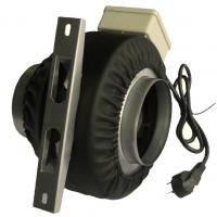Environmental Protection 5 Rectangular Inline Exhaust Fan Duct Fans 110V - 380V AC Manufactures