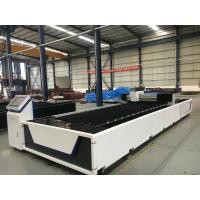 Ipg CNC Cutting Machine , Stainless Steel Tube Fiber CNC Metal Laser Cutter Manufactures