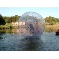 Custom UL Durable PVC or TPU 1. 8m Small Inflatable Zorb Ball, human hamster ball on water Manufactures