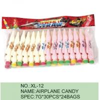 Strawberry Airplane Low Fat Sour Powder Candy Funny HACCP Certification Manufactures