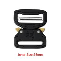 38mm Strong Quick Release Cobra Insert Buckle , Durable Tactical Belt Buckle Manufactures