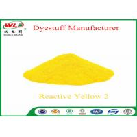 Permanent Fabric Dye C I Reactive Yellow 2 Reactive Dyes Brill Yellow K-6G Manufactures