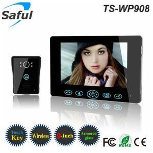 China Top Saful 2.4GHz wireless peephole video door phone intercom system on sale
