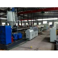 China Automatic Plastic Pipe Production Line , PVC PE Pipe Production Line on sale