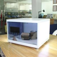 Weather Proof Transparent LCD Screen With Energy Saving LED Backlight Manufactures