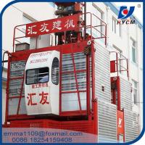 China SC Models Building Construction Hoist Elevator 500kg to 6000kg load capacity on sale