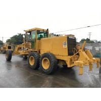 Second Hand Compact Motor Grader , Caterpillar Road Grader 12G A/C Available Manufactures