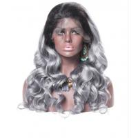 China Smooth Body Wave 100 Indian Full Head Lace Human Hair Wigs For Black Women on sale