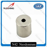 Round Hollow Cylinder Ndfeb Permanent Magnet N52 Diametrically Magnetized Manufactures