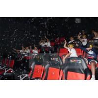 Crazy 6D Movie Theater , 6D Motion Simulators Experience With Many Kinds Of Special Effects Manufactures