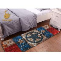 Customized Style Bedroom Area Rugs Indoor Outdoor With SGS / CE / ISO9001 Manufactures