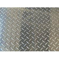 Quality Color Coated Polished Aluminum Checkered Sheet Thickness 1.5mm - 6mm , Diamond for sale