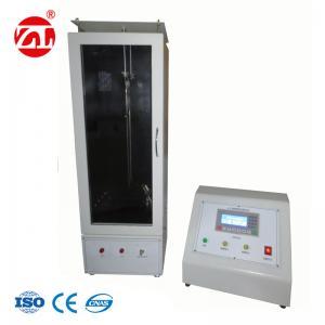 China 45°Textile Burning Tester Used To Measure  Flame Retardant And Carbonization etc on sale
