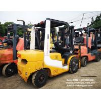 tcm used diesel forklift manual 3 ton isuzu engine with 3000mm mast Manufactures